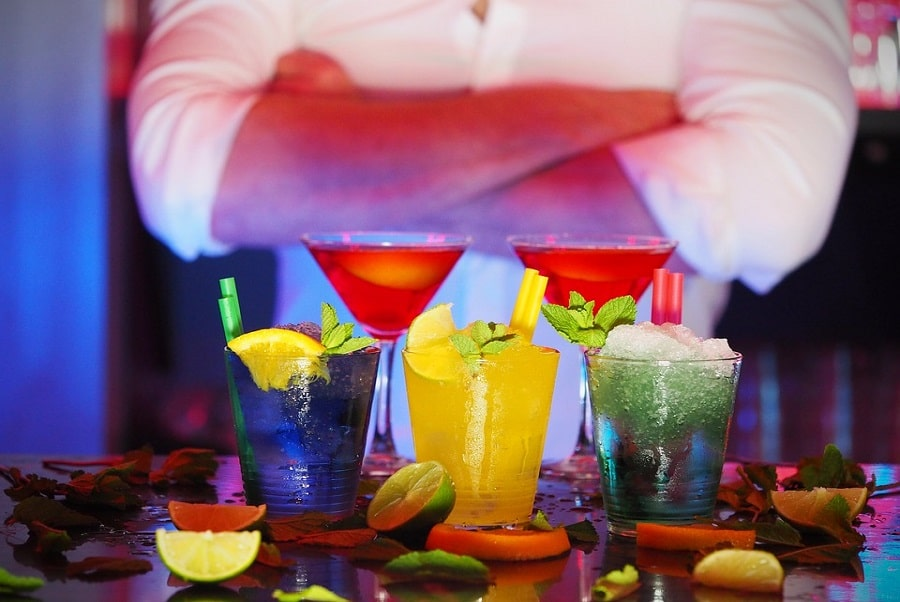 Bartender Shirts Night Cocktails Man Club Drinks